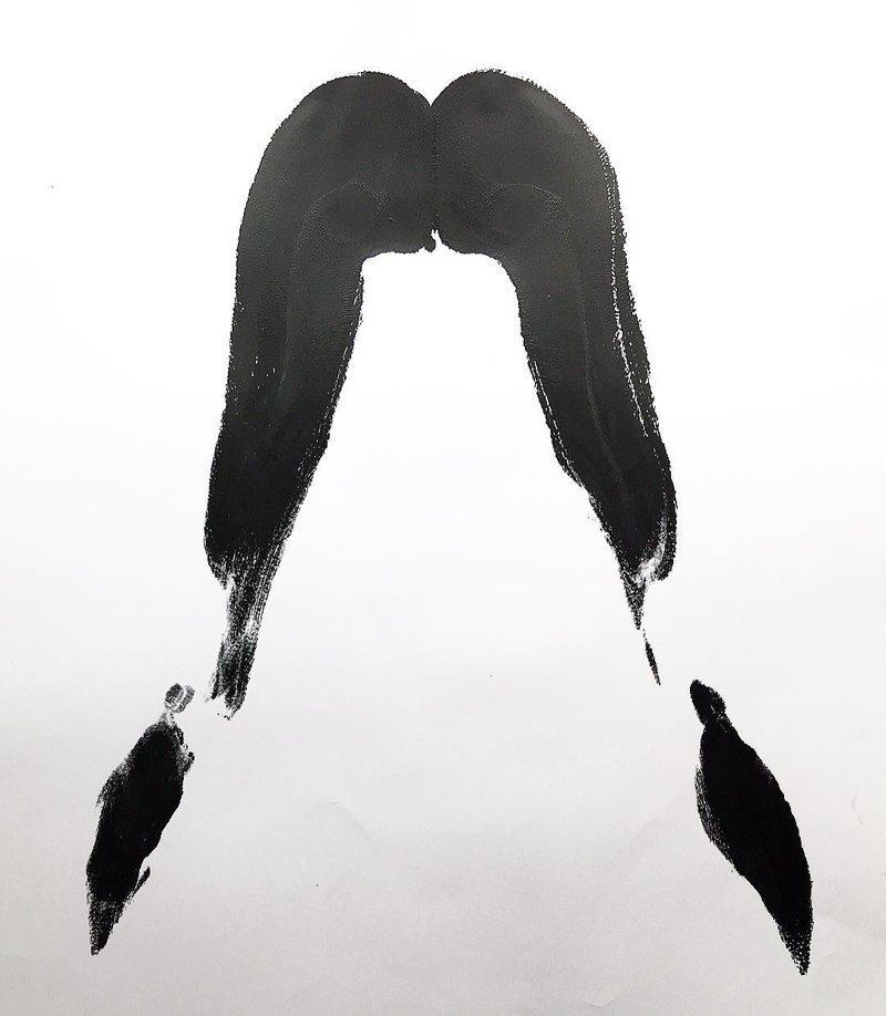 Голопопое искусство: художник использует женское тело для создания картин женское тело, картины, красиво, перфоманс, фото