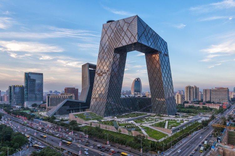 Штаб-квартира CCTV, Пекин, Китай красота, небоскребы, самый-самый, строительство, удивительное, фантастика
