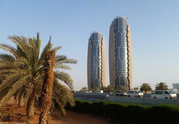 Башни «Аль-Бахар», Абу-Даби, ОАЭ красота, небоскребы, самый-самый, строительство, удивительное, фантастика