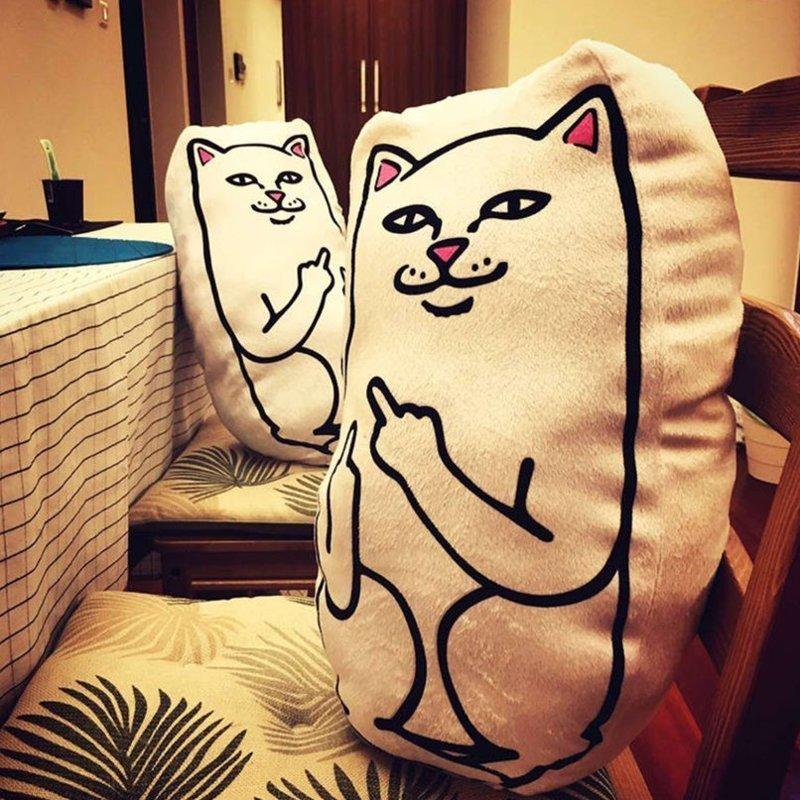 Есть смешные подушки, а сеть даже обидные. интересное, отдых, подборка, подушки, сон, фото, юмор