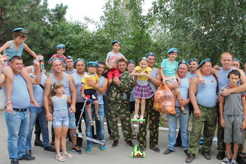 День ВДВ - 2 августа 2018г Морозовск, вдв, десант, приют