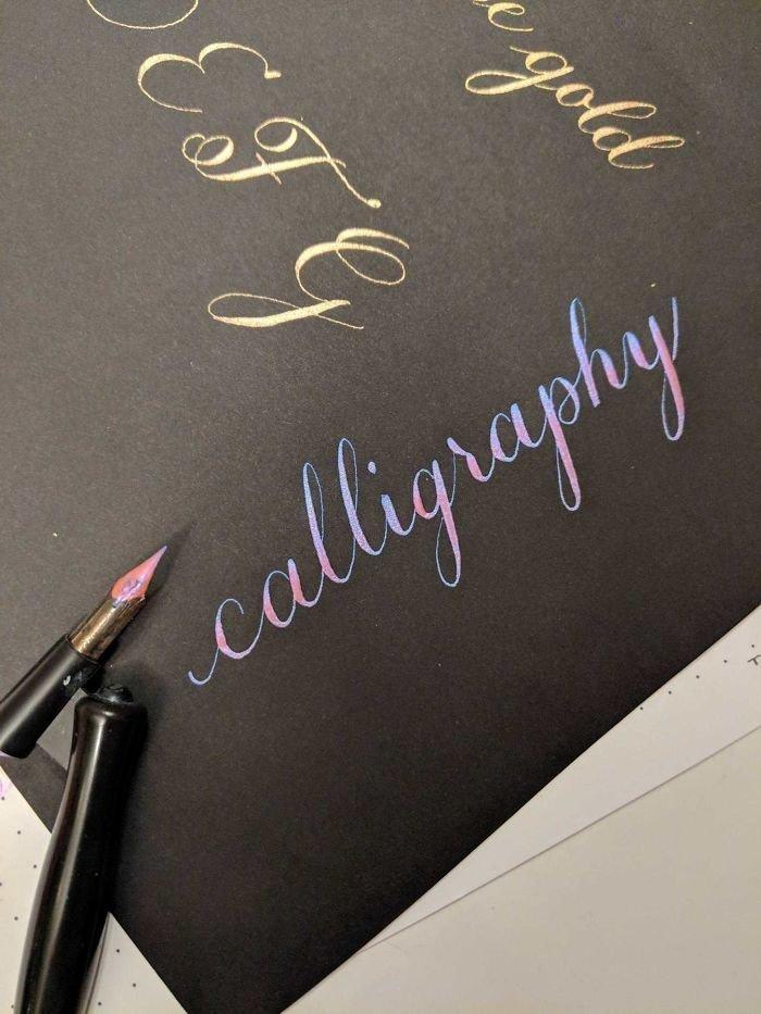 36. искусство, каллиграфия, красота, образец, письмо, почерк, пример