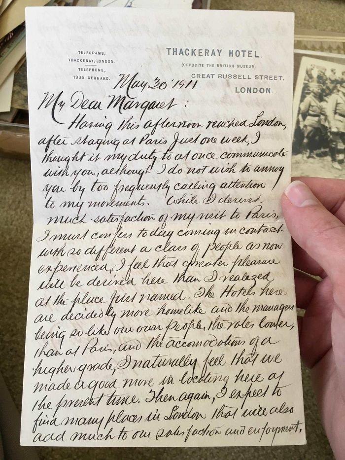 33. Письмо 1911 года искусство, каллиграфия, красота, образец, письмо, почерк, пример