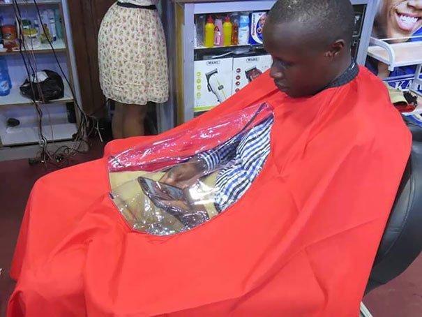Нормальная парикмахерская Хитрость, живут в 3018 году, прикол, хитровыделанность, хитрости, юмор