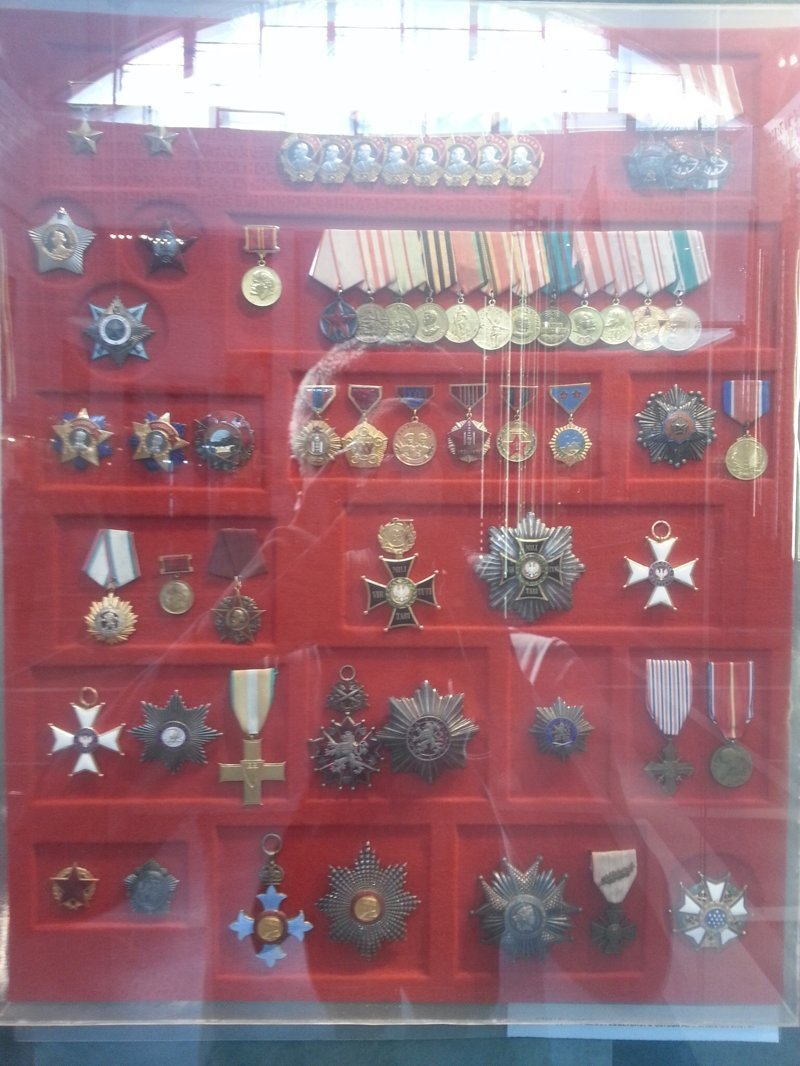 Его награды Центральный музей Вооружённых Сил, музей, фотоэкскурсия