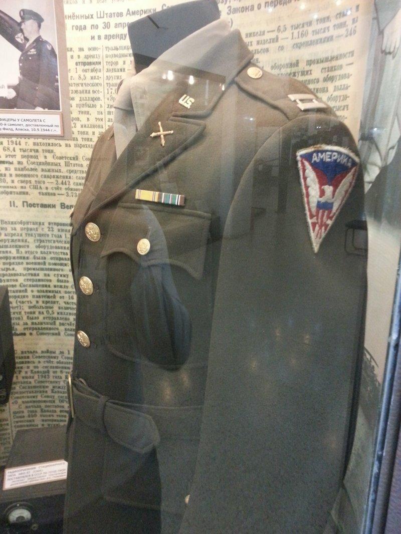 Мундир Американского военного Центральный музей Вооружённых Сил, музей, фотоэкскурсия