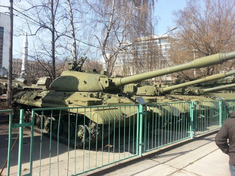 """Для любителей техники времен """"Холодной Войны"""" Т-10М Центральный музей Вооружённых Сил, музей, фотоэкскурсия"""