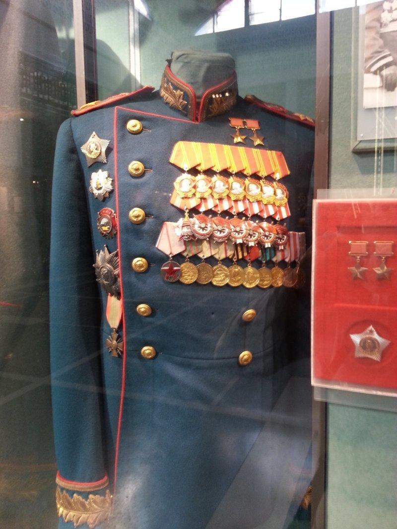 Мундир Жукова Центральный музей Вооружённых Сил, музей, фотоэкскурсия
