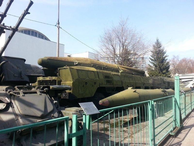 ОТРК Темп-С Центральный музей Вооружённых Сил, музей, фотоэкскурсия
