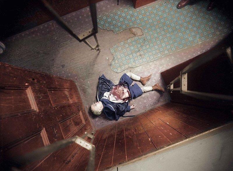 Любовь, деньги и смерть: сцены кровавых убийств в Нью-Йорке столетней давности истории убийств, место преступления, полиция, смерть, снимки с мест преступлений, труп, убийство, убийца