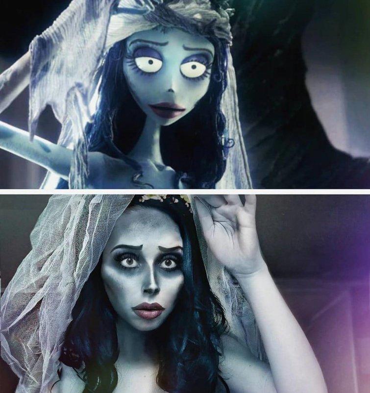 Эмили, «Труп невесты» Юлия Гудков, кино, косплей, люди, мультик, перевоплощение, персонаж