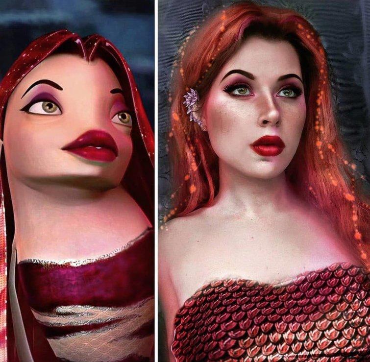 Лола, «Подводная братва» Юлия Гудков, кино, косплей, люди, мультик, перевоплощение, персонаж