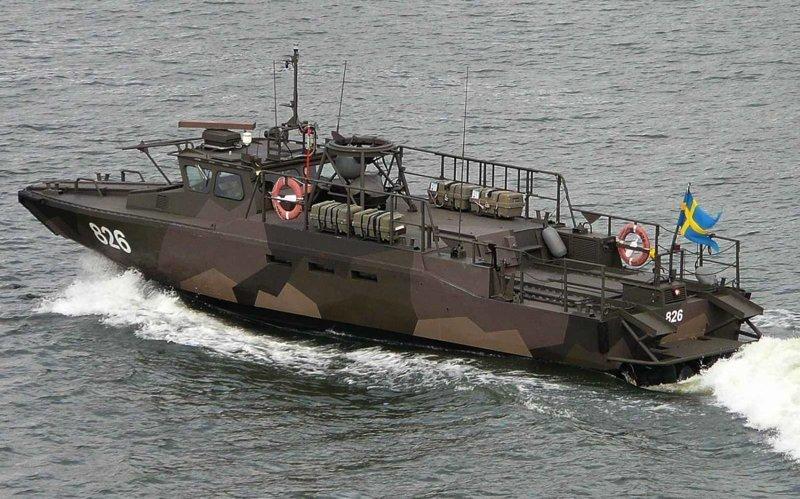десантно-штурмовой катер Stridsbat 90 ВМС Швеции газовый флот, коммерческий флот, оффшорный флот, пассажирский флот, рыболовный флот, современный флот, танкерный флот, транспортный флот