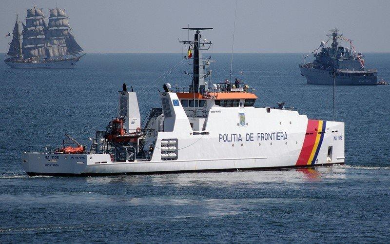 Корабль наблюдения для береговой охраны Румынии: газовый флот, коммерческий флот, оффшорный флот, пассажирский флот, рыболовный флот, современный флот, танкерный флот, транспортный флот