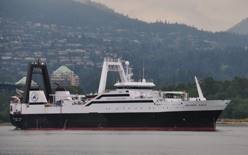 Рыболовный траулер «Nоrthеrn Еаglе» газовый флот, коммерческий флот, оффшорный флот, пассажирский флот, рыболовный флот, современный флот, танкерный флот, транспортный флот