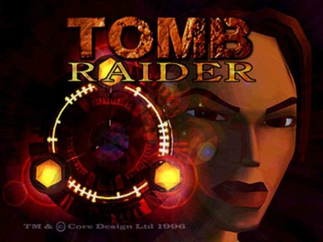 Tomb Raider 1996, 90 годы, playstation, джойстик, игра, компьютер, приставка