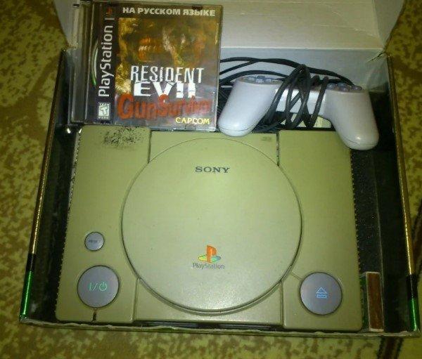 PS 1996, 90 годы, playstation, джойстик, игра, компьютер, приставка