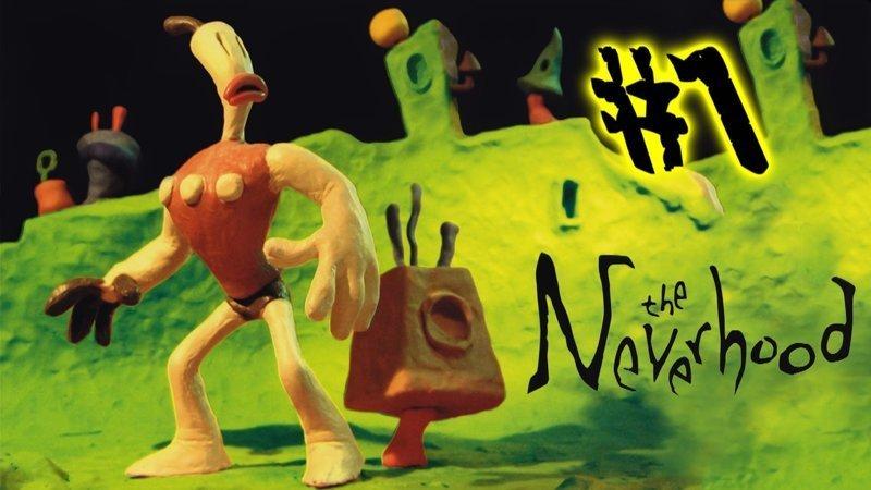 The Neverhood 1996, 90 годы, playstation, джойстик, игра, компьютер, приставка