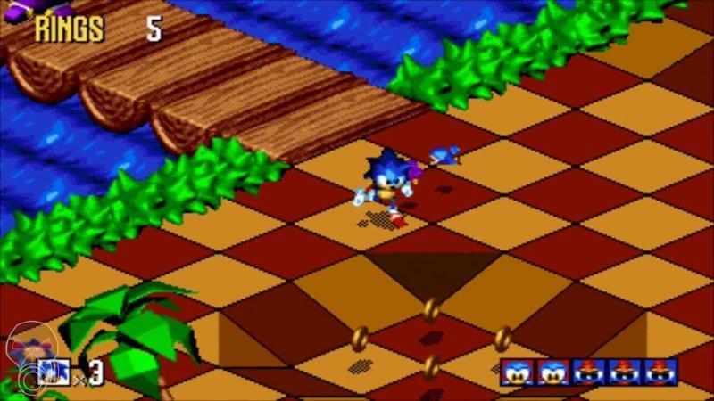Sonic 3D 1996, 90 годы, playstation, джойстик, игра, компьютер, приставка