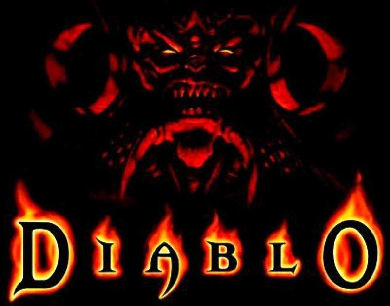 Diablo 1996, 90 годы, playstation, джойстик, игра, компьютер, приставка