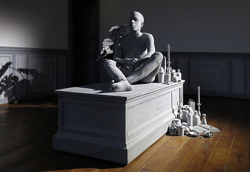 Невероятно реалистичные скульптуры Ханса Оп де Бека Бельгия, Скульптуры, монохром, реалистичность, скульптор, скульптор-гиперреалист, современное искусство, художник