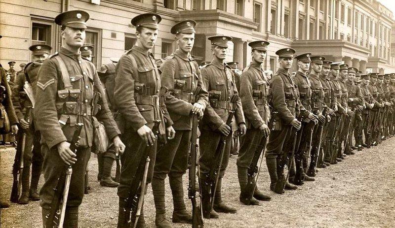 На фронтах двух мировых войн великобритания, гвардия, история, факты