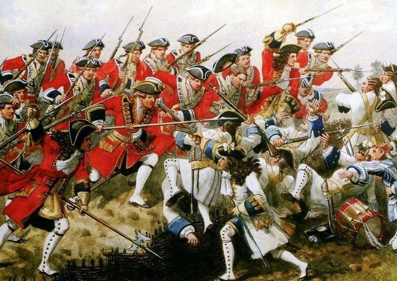 В битвах за короля и Империю великобритания, гвардия, история, факты