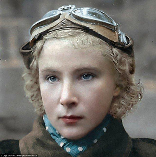 А в это же время голубоглазый белокурый ангел – Лидия Литвяк – сносила с неба «белокурых бестий» Геринга… война, история, наши женщины