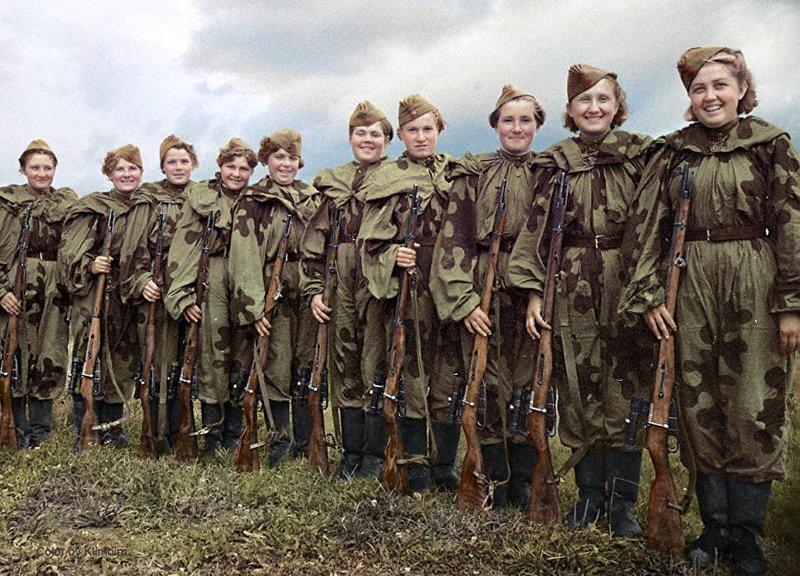 И сколько их было таких русских красавиц, которых очень не стоило злить «нашим западным партнёрам»... война, история, наши женщины