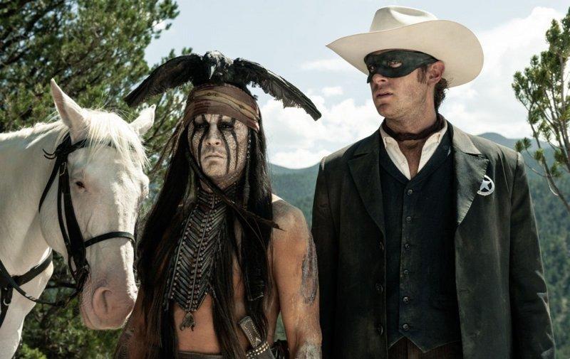 7. Одинокий рейнджер (2013 год) голливуд, звезды кино, кино, провал в прокате, убытки