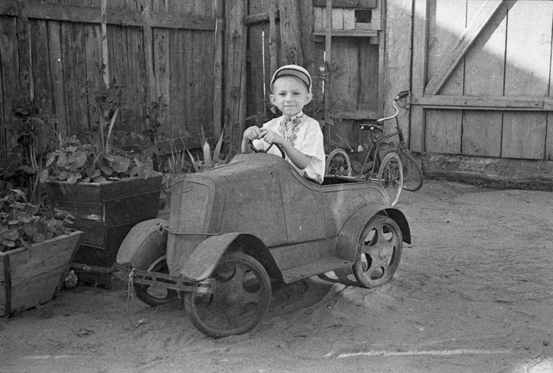 Советский автопром для детей СССР, детство, история