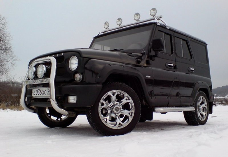 20+ примеров отличного тюнинга УАЗ УАЗ Хантер, автомобили, тюнинг уаза, уаз, уаз 469