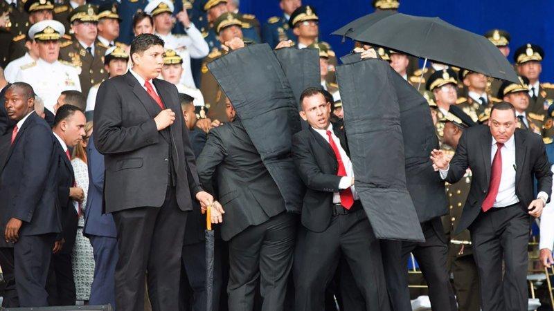 Впервые в истории дронов использовали для покушения на президента Николас Мадуро, венесуэла, дроны, новости, покушение