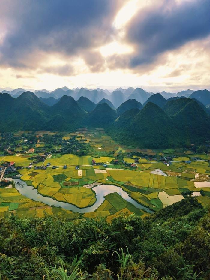 Долина Бак Сон, Вьетнам день, животные, кадр, люди, мир, снимок, фото, фотоподборка
