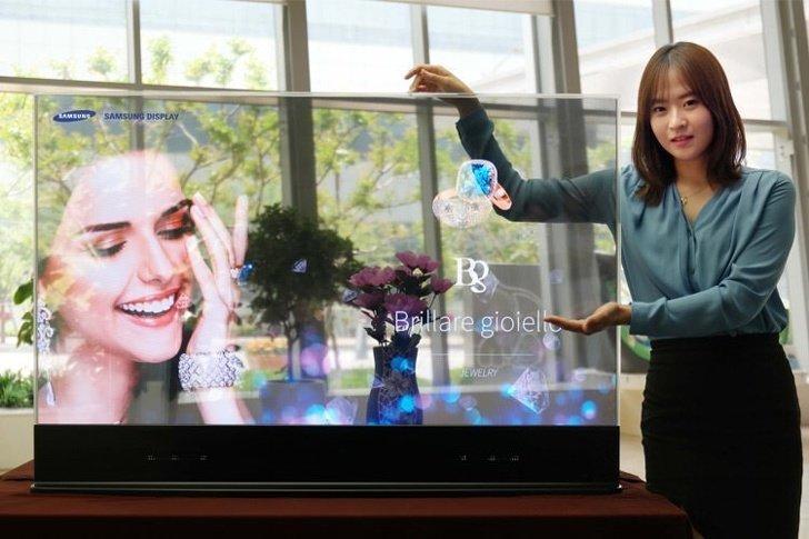 Понять, почему прозрачный экран телевизора - это крутая выдумка 21 века, мы пока не смогли, но, видимо, со временем поймем :) будущее, в мире, гаджеты, где купить, круто, технология