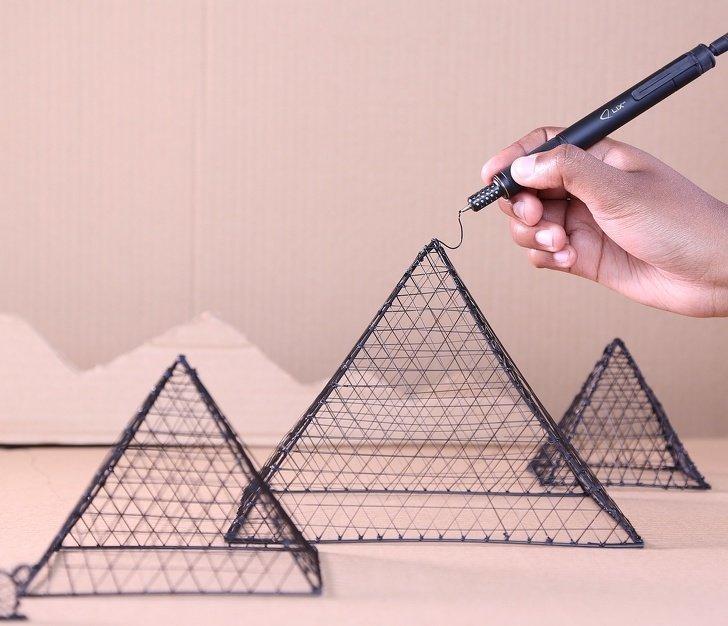Это не просто ручка, это 3D-ручка! Вы можете не только ею рисовать, но и выстраивать все, что душе вздумается будущее, в мире, гаджеты, где купить, круто, технология