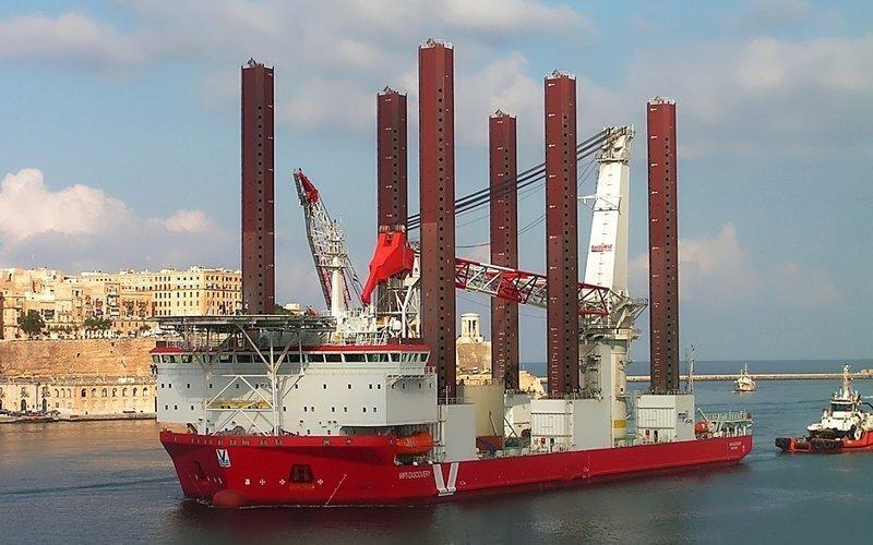 Морское судно для установки турбин «MPI Discovery» газовый флот, коммерческий флот, оффшорный флот, пассажирский флот, рыболовный флот, современный флот, танкерный флот, транспортный флот