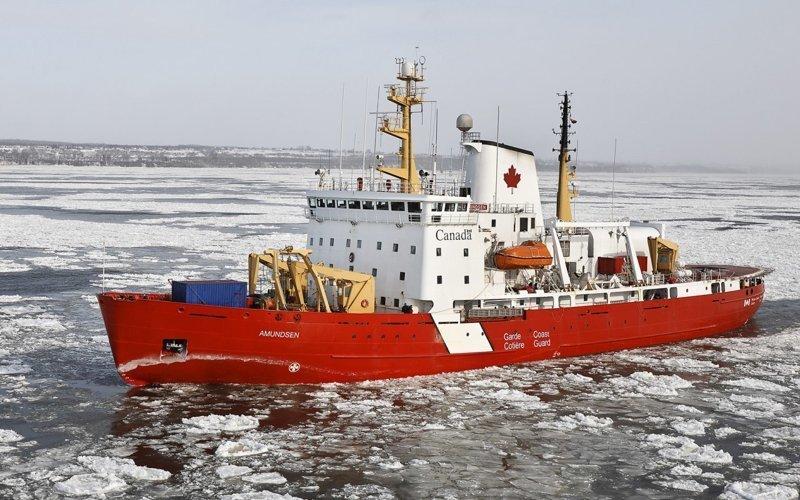 Арктический научно-исследовательский ледокол «CCGS Amundsen» газовый флот, коммерческий флот, оффшорный флот, пассажирский флот, рыболовный флот, современный флот, танкерный флот, транспортный флот