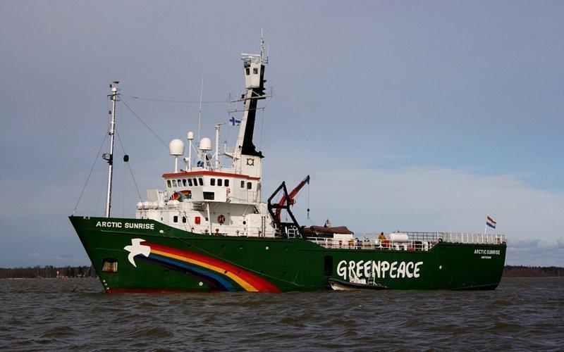Ледокольное судно «Arctic Sunrise» газовый флот, коммерческий флот, оффшорный флот, пассажирский флот, рыболовный флот, современный флот, танкерный флот, транспортный флот