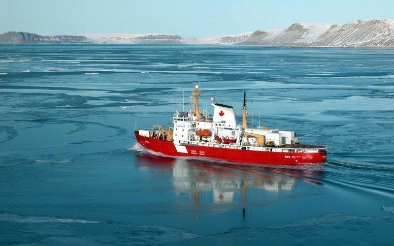 Арктический ледокол «CCGS Amundsen» газовый флот, коммерческий флот, оффшорный флот, пассажирский флот, рыболовный флот, современный флот, танкерный флот, транспортный флот
