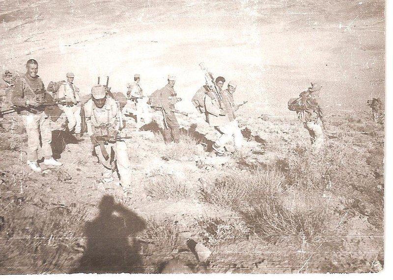 Кандагар 173 отряд, 1987-88гг. афган, война, история, факты