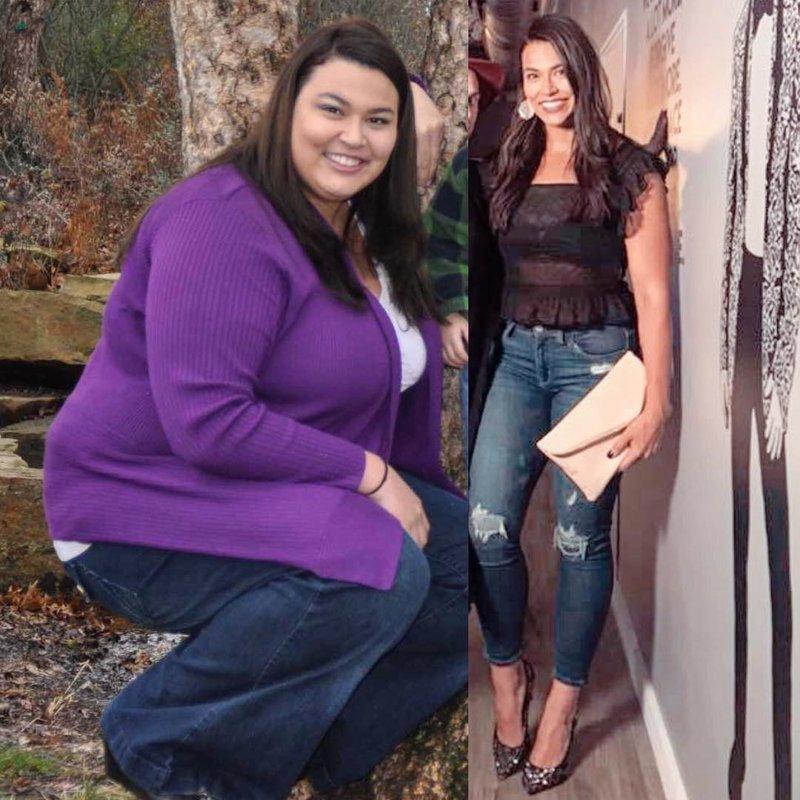 4. Эрика упорным трудом потеряла 68 кг. Теперь она продолжает работать над своим телом!   диета, до и после, до и послу похудения, трансформация, фото