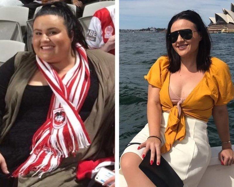 12. 23-летняя Дженнифер стремится к идеалу диета, до и после, до и послу похудения, трансформация, фото