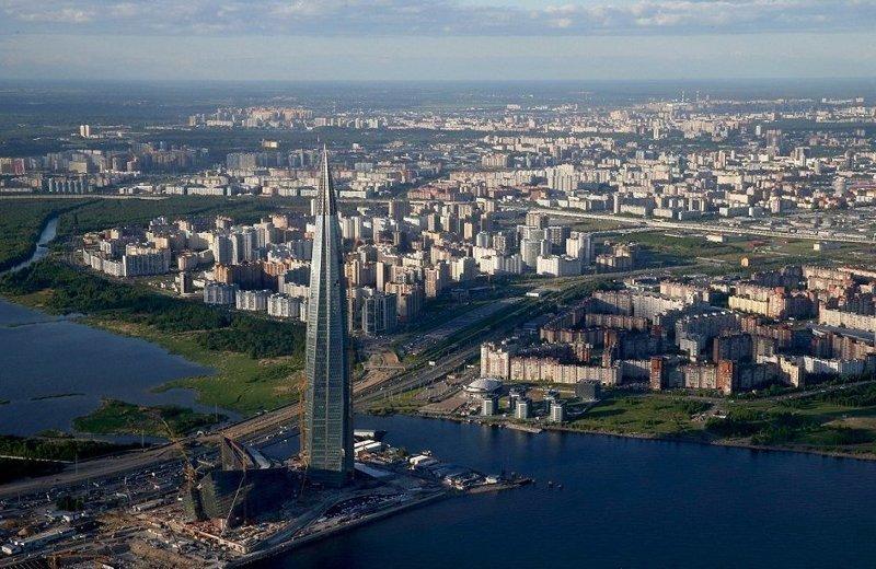 """Архитектурная концепция была разработана компанией """"RMJM"""", сам проект комплекса создан компанией """"Горпроект"""" ЛахтаЦентр, газпром, небоскреб, россия, санкт-петербург, строитель, фото"""