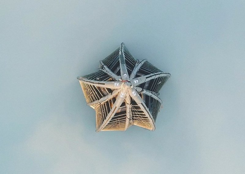 Шпиль был установлен без привлечения вертолетной техники, монтаж осуществлял самый высокий строительный кран в Европе  ЛахтаЦентр, газпром, небоскреб, россия, санкт-петербург, строитель, фото
