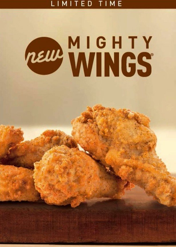 Могучие крылья от McDonalds гении креатива, еда, креатив, новый продукт, провал, фиаско
