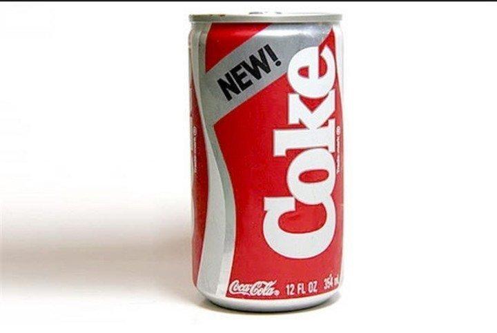 Новая Coca-Cola гении креатива, еда, креатив, новый продукт, провал, фиаско