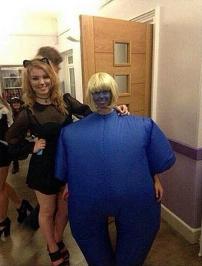 10. Хэллоуин покажет истинные лица каждого человека! два типа, девушки, смелость, страх, типичная девушка, фото