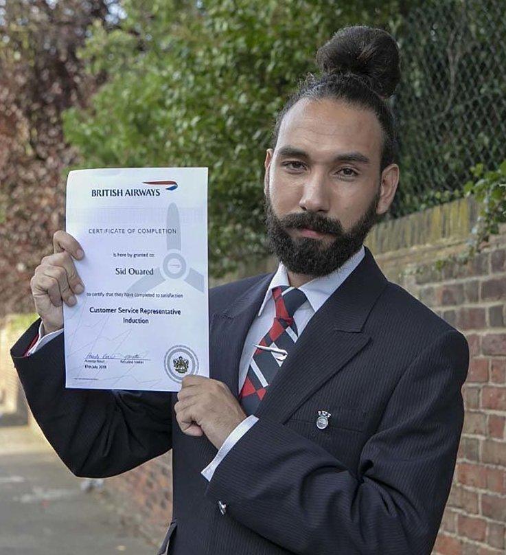 Сотрудник British Airways был уволен за причёску в мире, люди, прическа, работа, увольнение