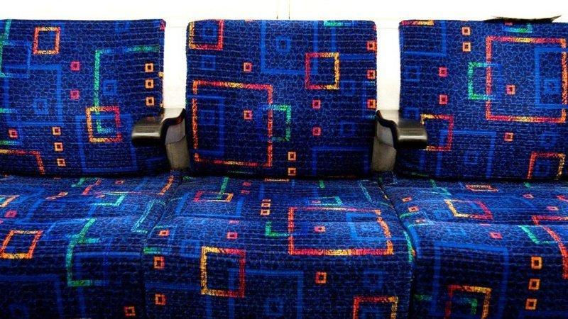 Существует несколько причин по которым автобусные сиденья выглядят именно ТАК автобус, интересно, материал, обивка, сиденья